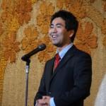 19.名誉実行委員長の吉田市長からご挨拶